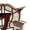 7th Special Forces Group Crest Desert Brown 7 Patch | Upper Right Quadrant
