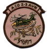 2nd Battalion 3rd Aviation Regiment A Company Patch - Desert Subdued
