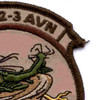 2nd Battalion 3rd Aviation Regiment A Company Patch - Desert Subdued | Upper Right Quadrant