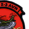 2nd Battalion 3rd Aviation Regiment A Company Patch | Upper Right Quadrant