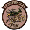 2nd Battalion 3rd Aviation Regiment A Company Desert Patch Hook And Loop