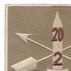 2nd Battalion 20th Special Forces Group Helmet Desert Patch | Upper Left Quadrant