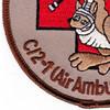 2nd Battalion 1st Regiment Aviation Air Ambulance C Company Patch | Lower Left Quadrant