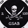 2nd Battalion 135th Aviation Regiment General Aviation Support Battalion Patch | Center Detail