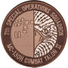 7th SOS Special Operations Squadron Desert Patch