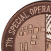 7th SOS Special Operations Squadron Desert Patch   Upper Left Quadrant