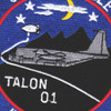 1st SOS Special Operations Squadron Patch Talon 01 | Center Detail