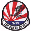 1st SOS S-99 The End Of An Era Patch