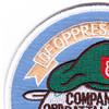 7th SFG (ABN) 3rd Battalion C Company Patch | Upper Left Quadrant