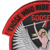 1st SOS Goose-11 Patch | Upper Left Quadrant