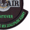 "1st SOS G-12 Con Air ""Green"" Patch 