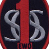 1st SOS EWO Electronic Weapons Officer Patch | Center Detail