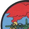 1st SOS Combat Ops Squadron Patch Puff The Magic Dragon | Upper Left Quadrant