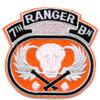 7th Ranger Battalion Patch