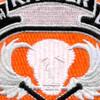 7th Ranger Battalion Patch | Center Detail