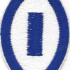 1st Service Command Patch | Center Detail