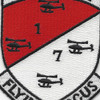1st of the 7th Aviation Cavalry Regiment Camanche Patch   Center Detail
