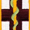 1st Medical Brigade Flash Patch | Center Detail