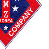 1st Marine Corps Division Patch First Prov. Police Company DMZ Korea | Lower Right Quadrant
