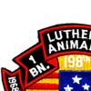 1st Battalion 52nd Infantry 198th Reconnaissance Platoon Patch | Upper Left Quadrant