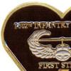 1st Battalion 502nd Airborne Infantry Regiment Patch | Upper Left Quadrant