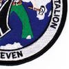7th Mobile Construction Battalion Patch | Lower Right Quadrant