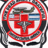 1st Battalion 228th Aviation Air Ambulance Skull Patch | Center Detail