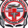 1st Battalion 228th Aviation Air Ambulance Skull Patch   Center Detail