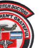1st Battalion 228th Aviation Air Ambulance Skull Patch | Upper Right Quadrant