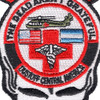 1st Battalion 228th Aviation Air Ambulance Mini Skull Patch Hook And Loop | Center Detail