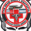 1st Battalion 228th Aviation Air Ambulance Middle Skull Patch Hook And Loop | Center Detail