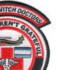 1st Battalion 228th Aviation Air Ambulance Large Skull Patch Hook And Loop | Upper Right Quadrant
