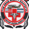 1st Battalion 228th Aviation Air Ambulance Large Skull Patch Hook And Loop | Center Detail