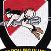 1st Battalion 227th Aviation Regiment Patch Hellfire Missile | Center Detail