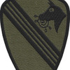 1st Battalion 227th Aviation Regiment Patch Crazyhorse | Center Detail