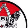 1st Battalion 212th Aviation Cavalry Regiment Saber Company Patch - Version C | Upper Right Quadrant