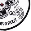 1st Battalion 212th Aviation Cavalry Regiment Saber Company Patch - Version C | Lower Right Quadrant