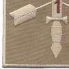 1st Battalion 20th Special Forces Group Helmet Desert Patch | Lower Left Quadrant