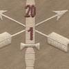 1st Battalion 20th Special Forces Group Helmet Desert Patch | Center Detail