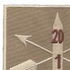 1st Battalion 20th Special Forces Group Helmet Desert Patch | Upper Left Quadrant