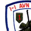 1st Battalion -1st Aviation Regiment Patch | Upper Left Quadrant