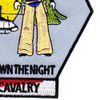 1st Battalion 1st Aviation Cavalry Regiment D Company Patch | Lower Right Quadrant