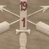 1st Battalion 19th Special Forces Group Helmet Desert Patch | Center Detail