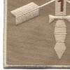 1st Battalion 19th Special Forces Group Helmet Desert Patch | Lower Left Quadrant