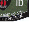 7th Infantry Division Military Occupational Specialty MOS Bayonet Patch | Lower Right Quadrant