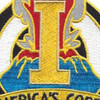 1st Army Corps Distinctive Unit Patch - B Version | Center Detail