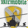 1st Air Cavalry Airmobile Patch | Center Detail