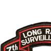 7th Infantry Division Long Range Scroll Patch   Upper Left Quadrant