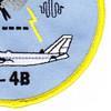 1st Airborne Command And Control Squadron Tech Control E-4B Patch | Lower Right Quadrant