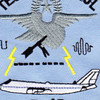 1st Airborne Command And Control Squadron Tech Control E-4B Patch | Center Detail
